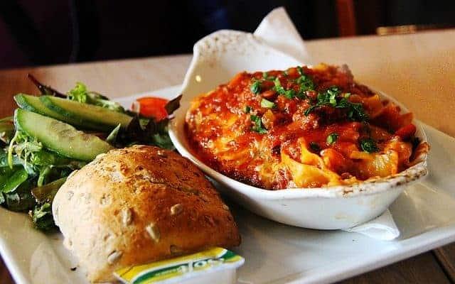 Val's Vegetarian Lasagne