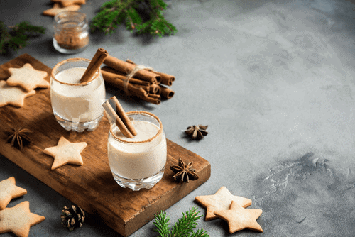 Coconut Eggnog (cooked)