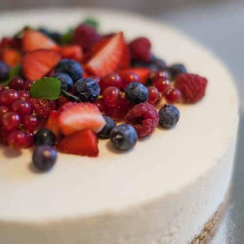 homemade no bake cheesecake