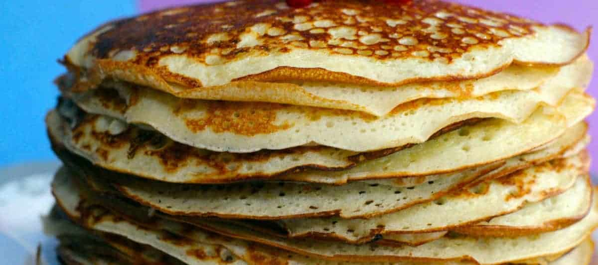 pikelets in a pile