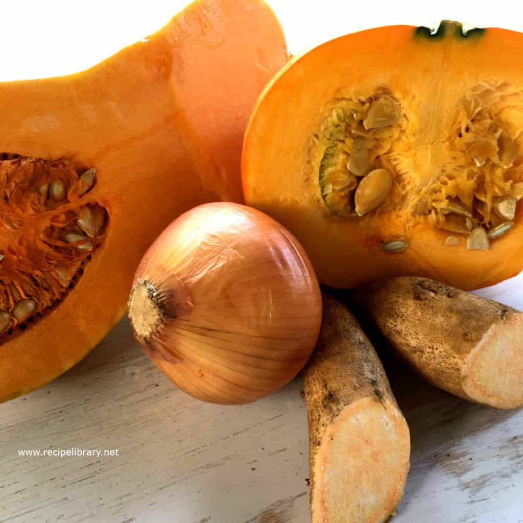 pumpkin soup ingredients